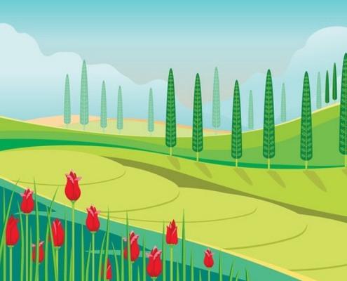 荒山绿化施工