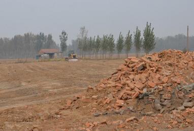 工矿污染土地